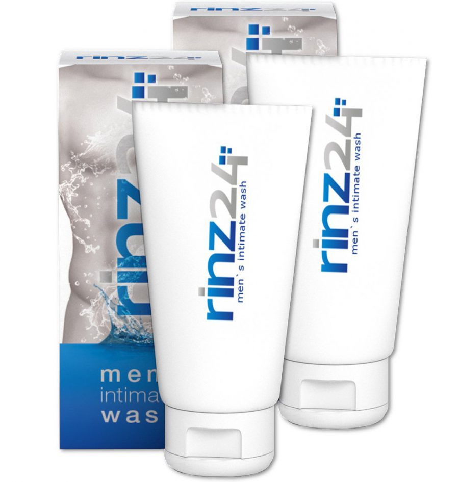 RINZ24 Mens Intimate Wash (200ml) - 2 PACK